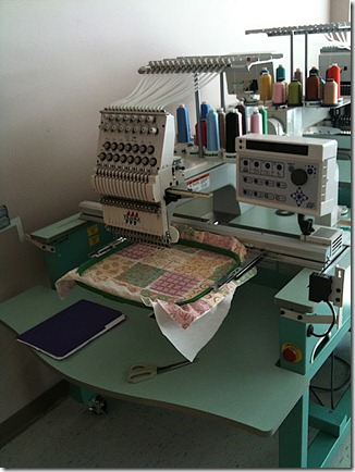 digital embroidery machine
